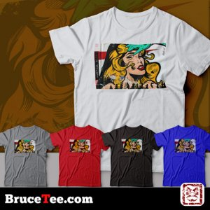 street art design 10 tm - Brucetee.com Martial Arts T-Shirts